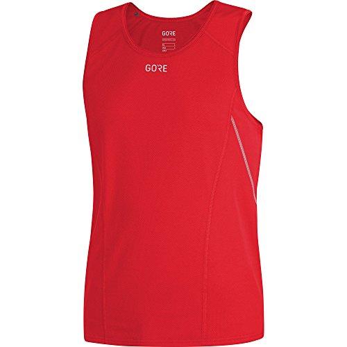 GORE WEAR Herren R5 Shirt Ärmellos, red, L -