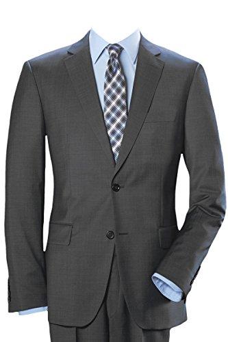 Zwei-knopf-anzug (Pierre Cardin 2-Knopf-Anzug grau 50)