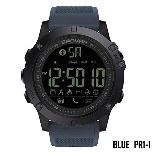 Coseyil Für SPOVAN Bluetooth Herrenuhr, Mode-Sportuhr, Digital Watch.2 Jahre Lebensdauer Der Batterie 50m Wasserdichte Uhr Relogio Feminino PR1