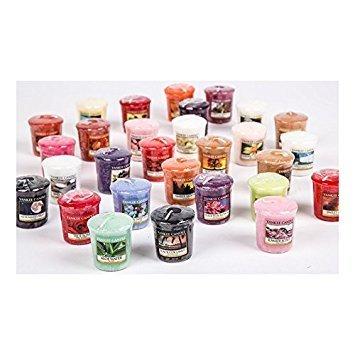 Yankee candle set di 5candele profumate e colorate