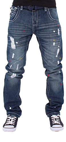 Peviani - Jeans - Homme Bleu