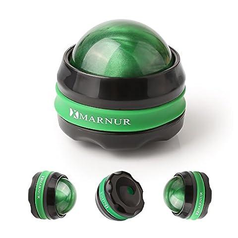 MARNUR Boules de Massage Manuel Balles Massants de Tout Corps en Matériel Résine pour Relaxation Musculaires Bien-être -Lot 2