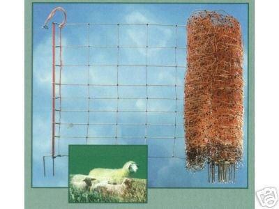 Elektrozaun 108 cm x 50 m Weidezaun Gartenzaun Schafnetz