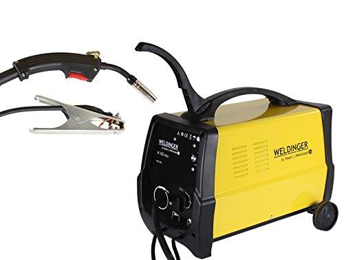 WELDINGER MIG /MAG-Schutzgasschweißgerät M 182 eco 180 A Leistung (Schweißgerät Transformator Schweißtrafo)