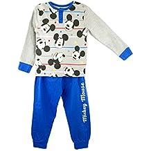 22-2292 Pijama de manga larga para niño de MICKEY MOUSE de 2 a 7