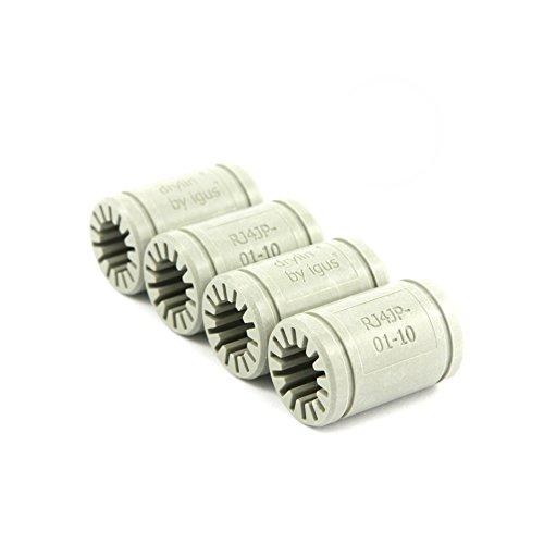 Preisvergleich Produktbild Igus ® Gleitlager 10mm - DryLin ® R - RJ4JP 01-010 (4 Stück)