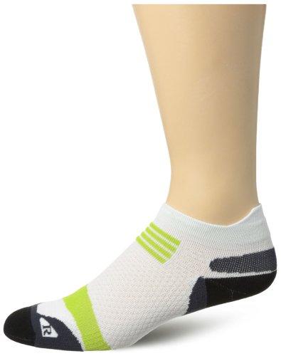Asics Kayano Socken (Asics - Unisex Kayano Einzel Tab Athletische Socken, X-Small, White)