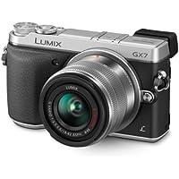 Panasonic Lumix DMC-GX7KEB-S G Series Compact System Digital Camera - Silver (14-42mm Lens, 16MP)