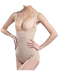 07ad3657b7 Shymay Women s Firm Control Shapewear Waist Shaper Tummy Slimmer Bodysuits