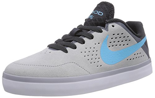 Nike SB Paul Rodriguez Ctd Leather (Gs), Low-Top Sneaker Ragazzo Grigio (Grau (Wolf grey/clrwtr-anthrct-white 041))