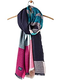 Joules Womens/Ladies Berkley Soft Cosy Warm Handle Oblong Scarf