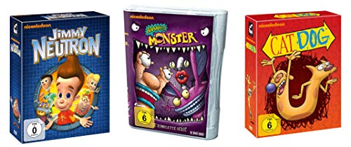 Nickelodeon Kultserien Paket - Jimmy Neutron + AAAHH!!! Monster + CatDog - 27 DVD Box Collection - Limited Edition
