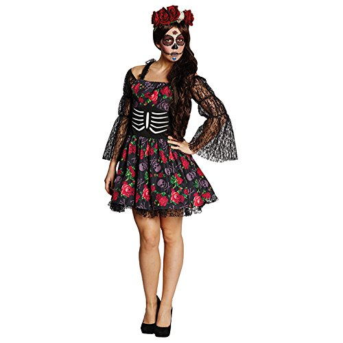 Rubie's NEU Damen-Kostüm, La Catrina, Gr. 38