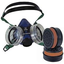 Kit protección respiratoria - Buconasal, Máscara + Filtros (2 Ud.) MASPER A1B1E1K1