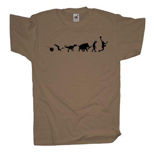 Ma2ca - 500 Mio Years - Basketballer Basketball T-Shirt Khaki