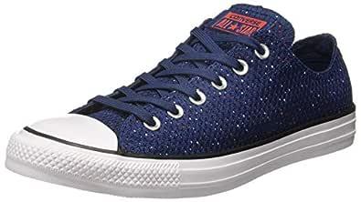 Converse Men's Navy/Red Sneakers - 10 UK/India (44 EU)(159684C)