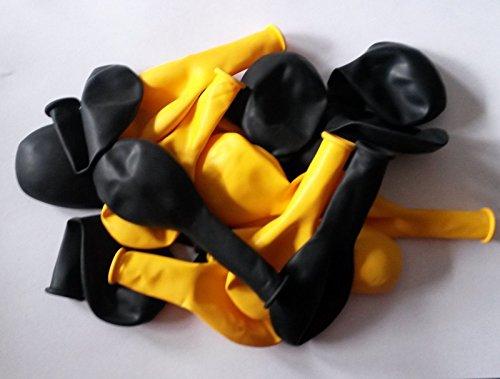 arz gelb Durchmesser 25 cm keine China Ware ,sondern aus EU ,nicht Gesundheitsschädlich ! (Gelb Ballon)