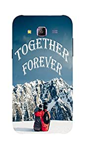 Back Cover for Samsung Galaxy J3 together forever