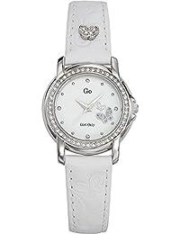 GO Girl Only Damen-Armbanduhr Analog Leder 697541