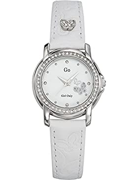 GO Girl Only Damen-Armbanduhr Analog Leder 697541