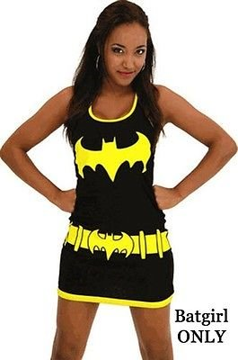 Batman Character Junior Dress Tank Top Dress | S