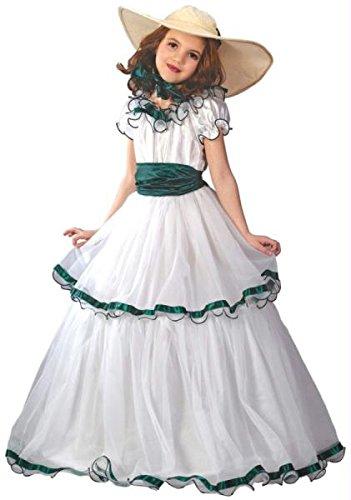 Fun World FW5934-L Southern Belle Kinderkost-m Gr--e L (Southern Belle Kostüme Für Kinder)