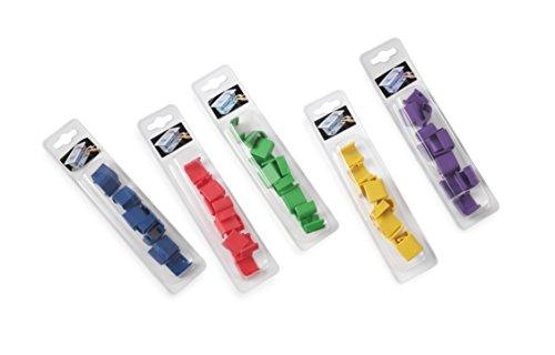 Hendi 880692 Farbcodierungsclip zu HACCP Aufbewahrungsbehälter, Blau (12-er Pack)