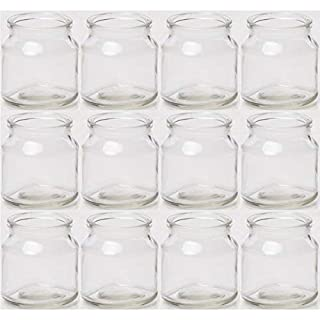 Annastore 12 Stück Teelichtgläser - Windlichter H 7 cm