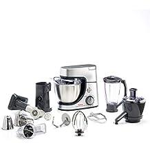 Tefal QB515D - Robot de cocina (4,6 L, Plata, 1,