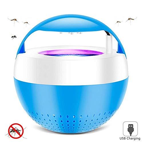 HXCLYQ LED-Mückenvernichter-USB-Mückenvernichter Inhalations-Mückenvernichter wasserdichtes Home Silent-Mückenlampen-Smart-Inhalator-Insektenfalle (Farbe: pink) (Farbe : Rosa)