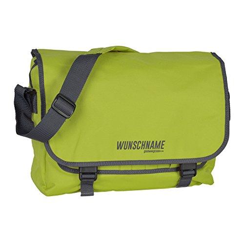 Umhängetasche Messenger Tasche Tasche Freizeittasche Aktentasche Dokumententasche Schultertasche mit Ihren Wunschnamen - Shirt Tasche Aktentasche
