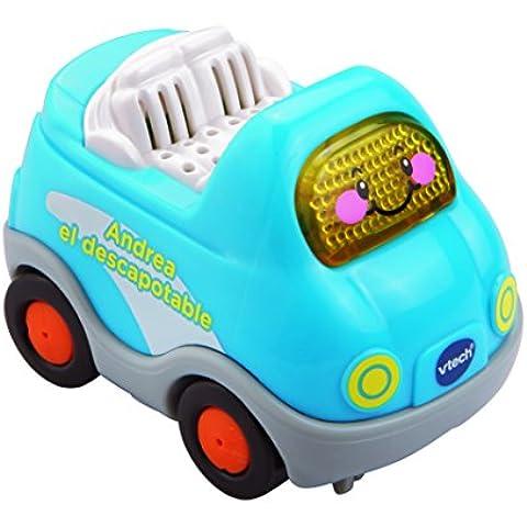 Tut Tut Bólidos - Vehículo de juguete Andrea descapotable (VTech 3480-152022)