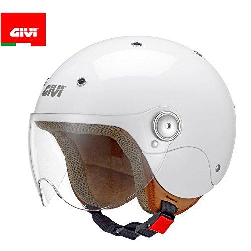 GIVI Casco Junior 3 HJ03BB91050, Bianco Lucido