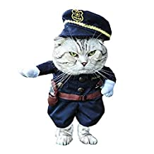 Mumoobear Cat clothes Dog dress costume suit for dog cat Funny clothes for pets, Medium