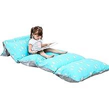 drcosy tumbona cojín, funda de almohada de suelo para niños adultos interior actividades al aire libre