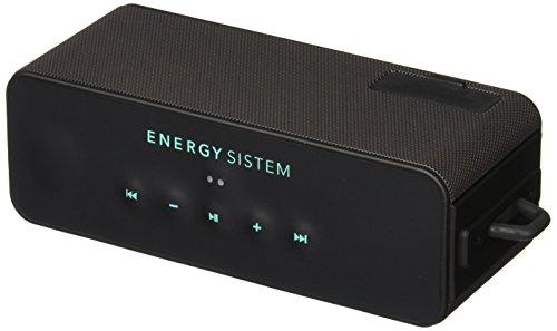 Energy Music Box Aquatic - Altavoz sumergible (Bluetooth, outdoor, audio-in y batería recargable), negro y azul