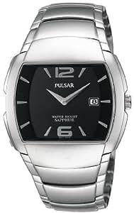 Pulsar - PVK125X1 - Montre Homme - Quartz - Analogique - Bracelet Acier Inoxydable Argent