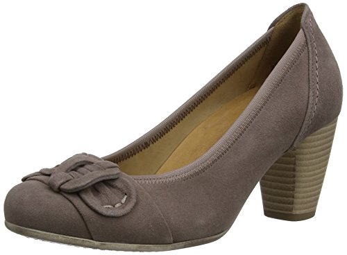 Gabor Shimmer, Women's Court Shoes, Brown (Dark Nude Suede), 7.5 UK