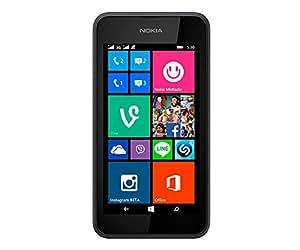 Nokia Lumia 530 Smartphone, 4 GB, Grigio [Italia]