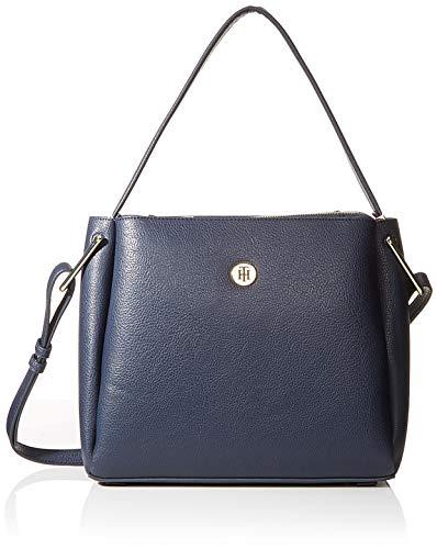 Tommy Hilfiger Damen Th Core Shoulder Bag Tornistertasche, Blau (Tommy Navy), 1x1x1 cm