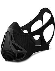 Masque de formation simulée Plateau Self-torture Artefact contrôle faible Anaérobie Lung Capacité physiques d'entraînement masques Sports Course à Pied Fitness masques