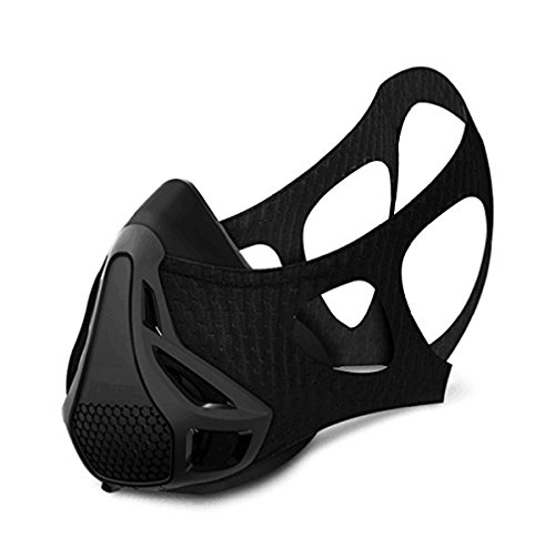 Training Maske Simuliert Plateau self-torture Artefakt Kontrolle geringer anaeroben Lung Kapazität Körperliche Training Masken Sport Running Fitness Masken