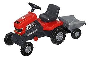 Polesie Polesie52681 Turbo Pedal Tractor y Remolque Juguete