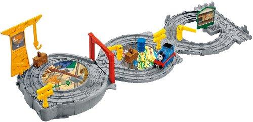 Mattel Fisher-Price X3123 - Thomas und seine Freunde Rundreise mit Thomas, tragbares Spielset
