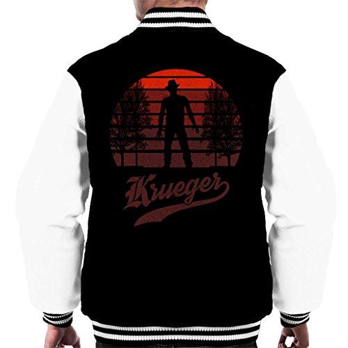 Cloud City 7 Nightmare On Elm Street Freddy Krueger Sunset Men's Varsity Jacket