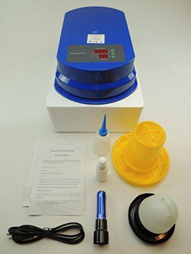 S12 Motorbrüter autom. Wendung Brutapparat, Inkubator, für bis zu 48 Eier Inkubator