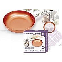 Sartén Cocina Saludable 28,5 cm con aleación de aluminio y mango de acero inoxidable