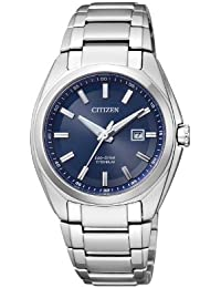 Citizen Damen-Armbanduhr XS Super Titanium Analog Quarz Titan EW2210-53L