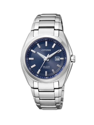 Citizen Damen-Armbanduhr XS Super Titanium Analog Quarz Titan EW2210-53L