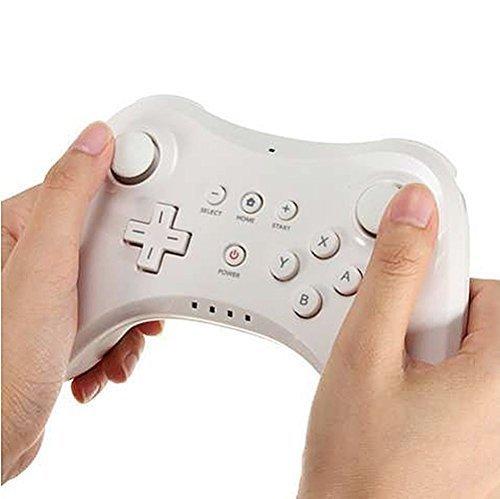 Wii U Gampad Wii U Controller, Stoga Wireless Pro Controller Wireless Gamepad Joystick für Nintendo Wii U (Wii U Weiß) (Camara De Seguridad Video)